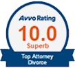 Avvo Rated 10.0 Superb Top Attorney Divorce